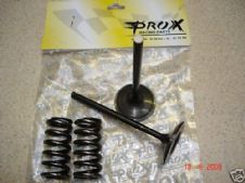 New ProX Steel Exhaust Valve/Spring Kit YZ/WR450F 03-09